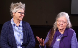 Dee Graham and Dorothy Emerson